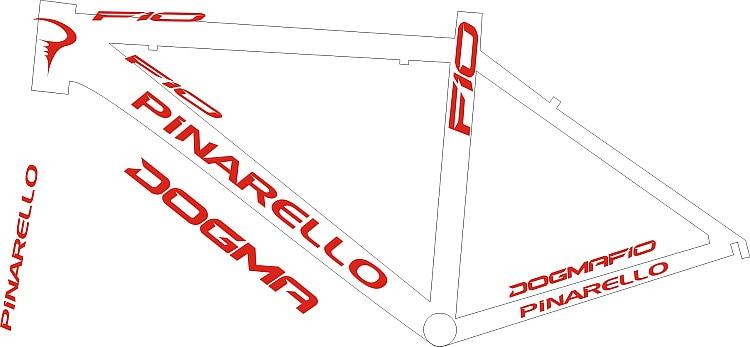 Bike Decals DIY Frame Stickers Bicycle Stickers Die-cut decal / sticker sheet (cycling, mtb, bmx, road, bike)