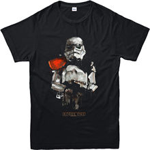 Star Wars T-Shirt, Rogue One Sand Trooper Inspired Top (SWRST) Print Tee Men Short Sleeve Clothing free shipping