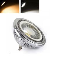 Factory Price High CRI 2pcs Pack Ar111 7W Dimmable LED Bulb DC12V COB LED Spot Light