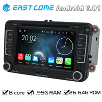 Octa Core 2 Din Android 6.01 Car DVD Automotivo For VW PASSAT CC (2008 to 2013) PASSAT (2005 to 2013) Golf 5 Golf 6 With Radio