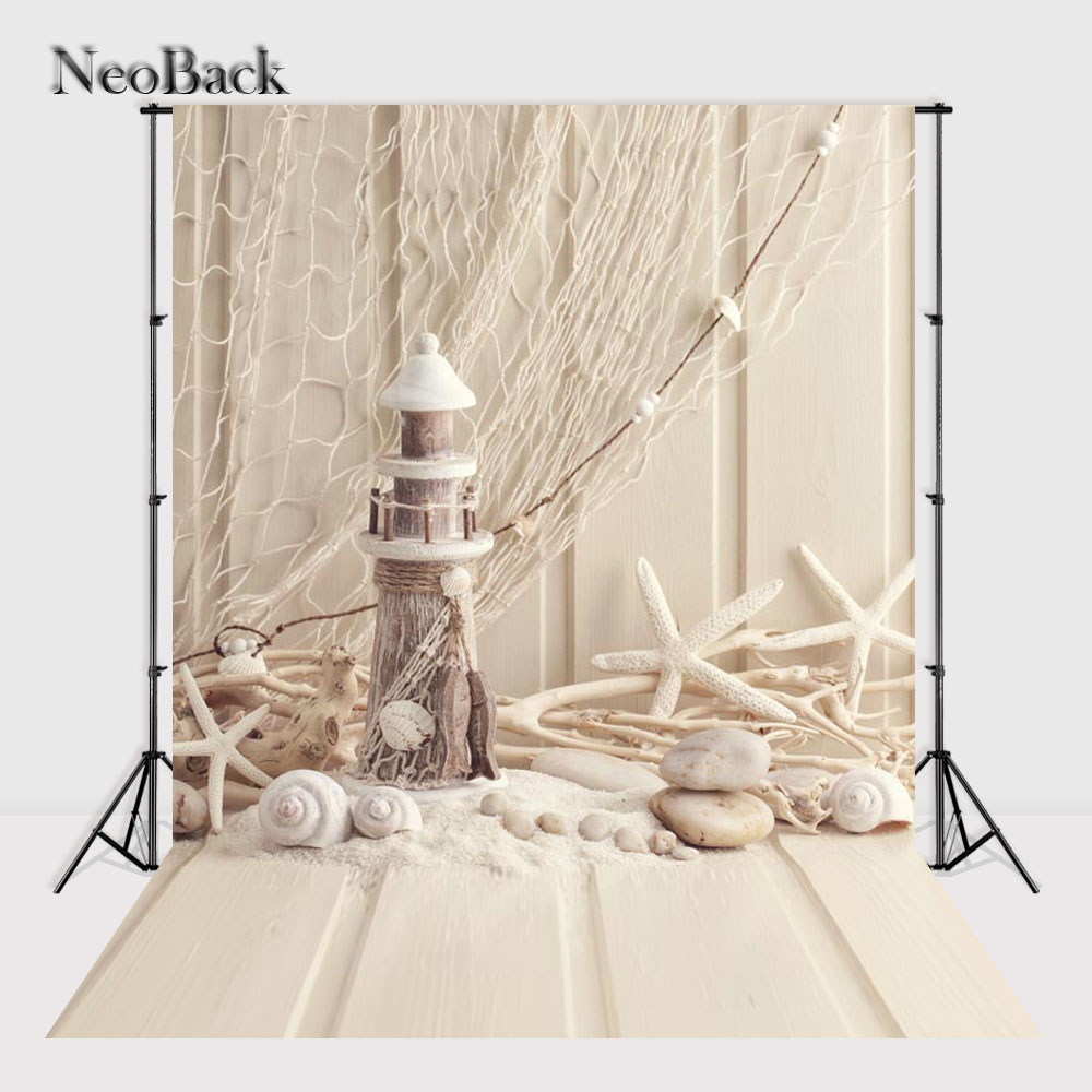 NeoBack Children Kids Photographic background Photo Studio Vinyl Cloth Printed Fishnet Photo backdrops 150X220cm A1284 circus banner party backdrops vinyl cloth computer printed children photo background circus