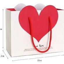 Праздничный Подарочный пакет для подарков, ювелирные изделия для свадьбы, дня рождения, вечеринки, высокое качество, рождественские вечерние, милые бумажные сумки