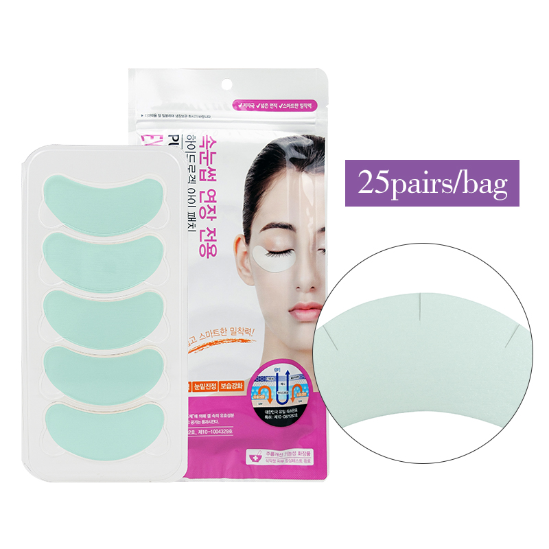 Large Capacity Pure Hydro Gel Eye Patch For Eyelash Extension Under Eyepatch Make Up Tools 25pairs/set