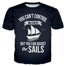 PLstar Cosmos 2019 You cant control the wind but you can adjusted salls 3D Print Hoodies Women/Mens  Hooded Sweatshirt