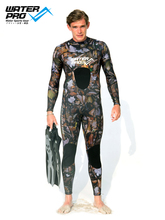 Water Pro Wetsuit 1.5mm Camouflage Full Suit Wetsuit Back YKK Zip for Water Sports Snorkeling Free Diving Spearfishing