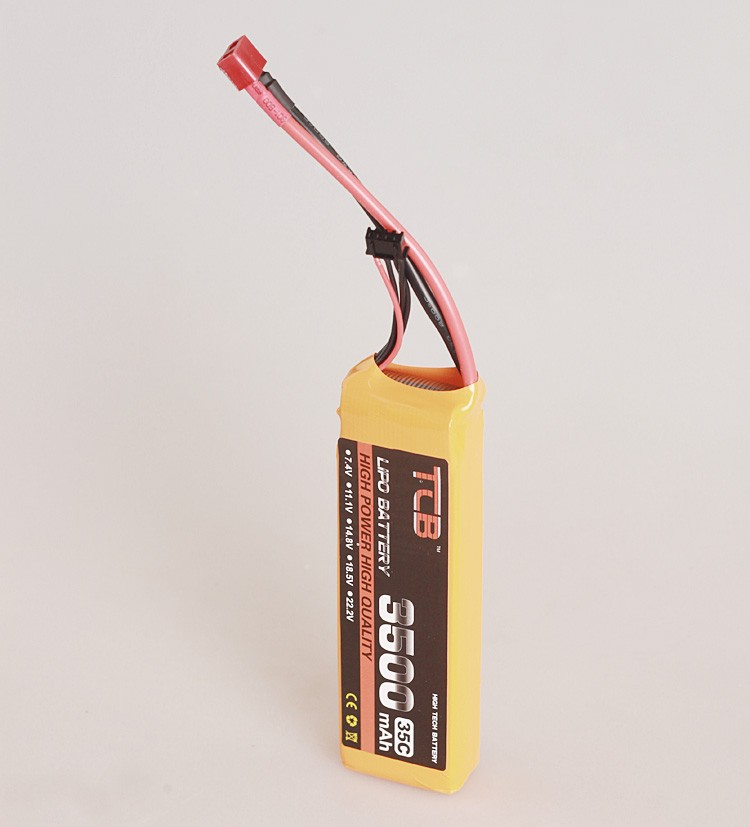 lipo battery 18.5 V 3500mAh 35C 5s for rc airplane   free shipping