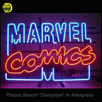 Marvel Comics Neon Sign Neon Bulb Real Glass Tube Handcrafted Beer Bar Pub Restaurant Advertising Tube