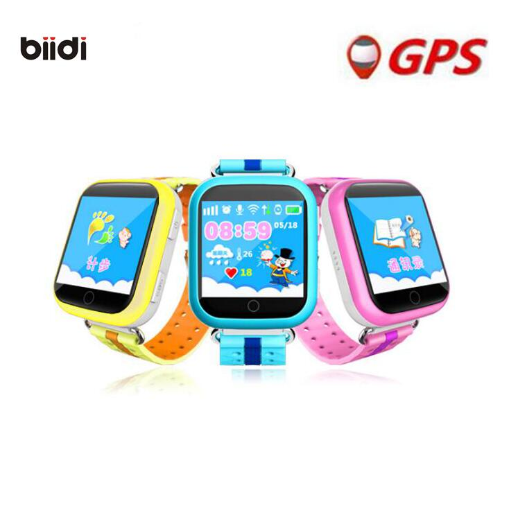 GPS Smart Watch Q750 Q100 Baby Watch With Wifi 1.54inch Touch Screen S