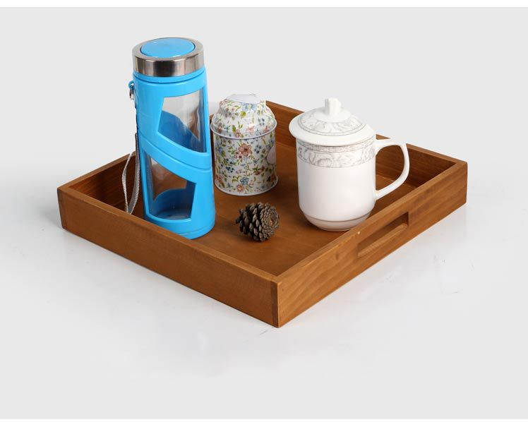 1PC Wooden Tray Manual Production Bandeja Decorativa Wood Tray Wooden Trays  To Decorate Home Decoration JL 0912 In Storage Trays From Home U0026 Garden On  ...