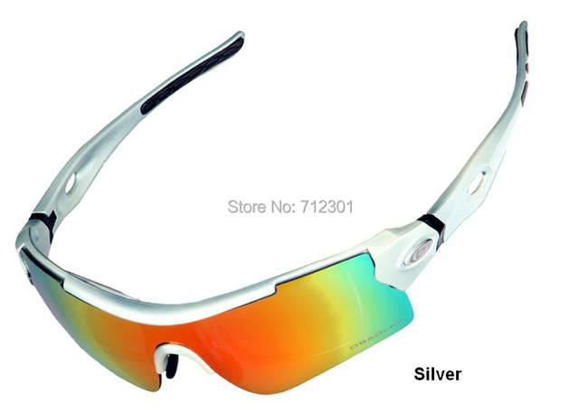 696599922e1 TR90 Polarized 5 Lens Bicycle Sunglasses