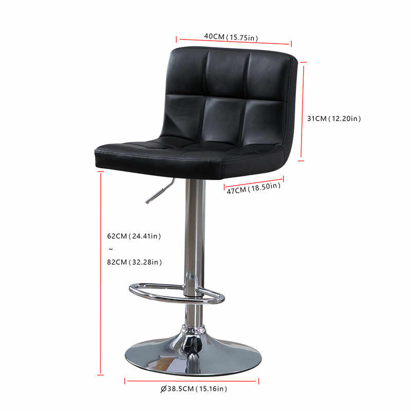 Awesome Samincom 2 Piece Modern Pu Leather Swivel Adjustable Pdpeps Interior Chair Design Pdpepsorg