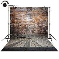 Photography Backdrops 215 150cm 7 5ft Broken Wooden Bricks Wall Background Vinyl Photography Backdrops Photo Studio