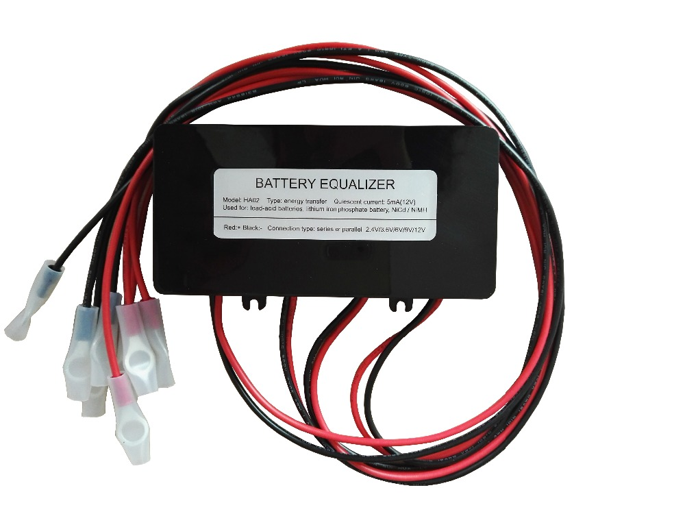 battery equalizer for 4 X 6V 4 X 12V lead acid battery 4 X 3 7V