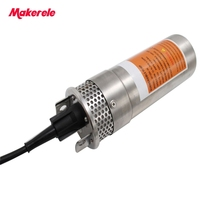 12V 24V Solar Energy Water Pump Durable Stainless Portable High Pressure Low Noise Outdoor Garden Deep