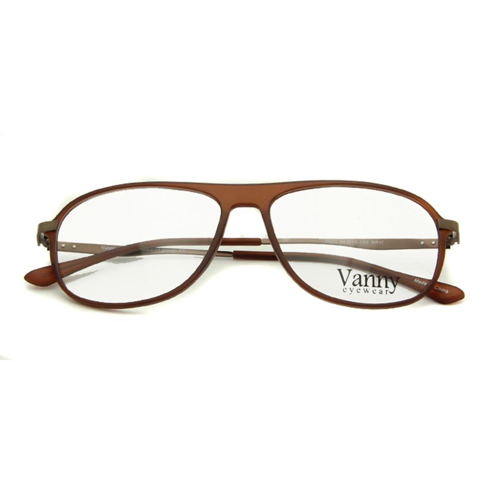 Sorbern TR90 Naočale Okvir Pilot Naočale Muškarci Žene Svjetlosna - Pribor za odjeću - Foto 4