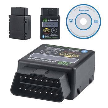 ELM327 OBD 2 OBDII herramienta de diagnóstico Bluetooth para coche interfaz escáner lectores de código de coche y herramientas de escaneo para accesorios de coche