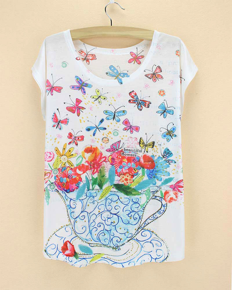 Design t shirts and sell online - Top Sale Novelty Design Tshirt 2015 New Summer American Fashion Ladies Plus Size Tees Tops Women