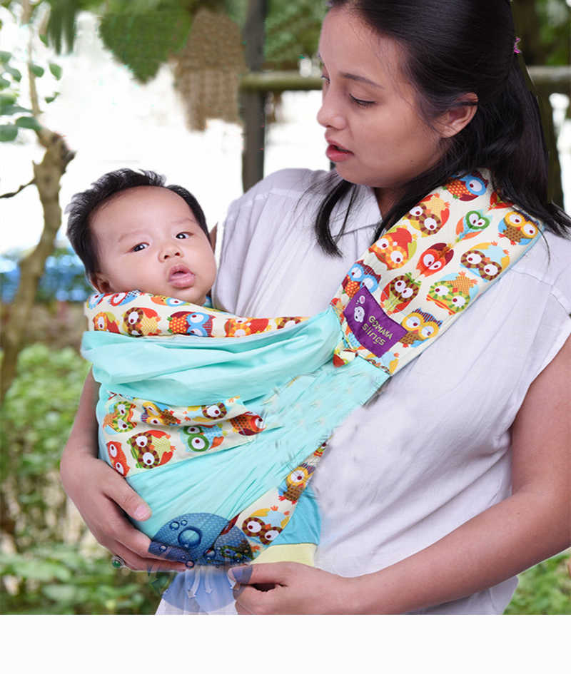 dd29a60191a ... Original Baby Slings Warp Cotton Carrier Hands-free Carrying Belt For  Newborns And Breastfeeding And
