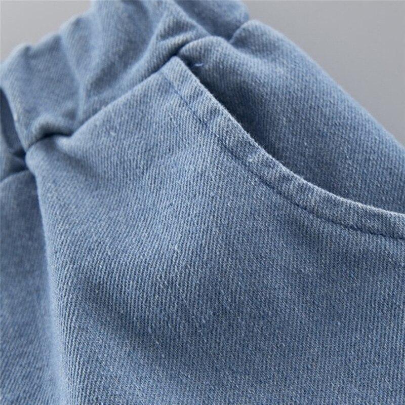 Boys clothes Child Kids Winter Boys Cartoon Shark Long Sleeve Tops Denim Pants Outfits Set #4j22 (16)