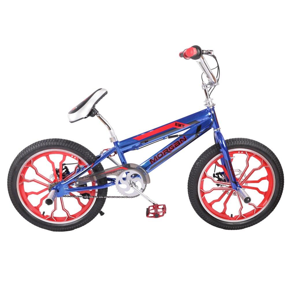 HILAND 20 ''BMX vélo Freestyle acier vélo vélo Double étrier frein spectacle vélo cascadeur vélo acrobatique - 2
