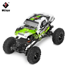 WLtoys 1:24 4WD RC Car Electric Climbing Car High Speed SUV Rock Rover Double Motors Big Foot Radio Controlled Off Road Toy