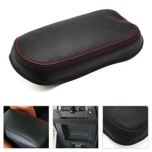 цена на for Toyota Corolla 2007 2008 2009 2010 2011 2012 2013 Center Console / Door Handle Panel Armrest Cover microfiber leather Pad