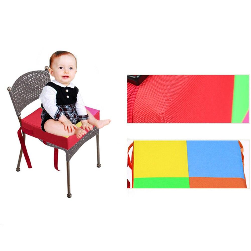 2018 New Baby Kids Chair Booster Cushion Highchair Increase Height Seat Pad Chair Mat Supplies