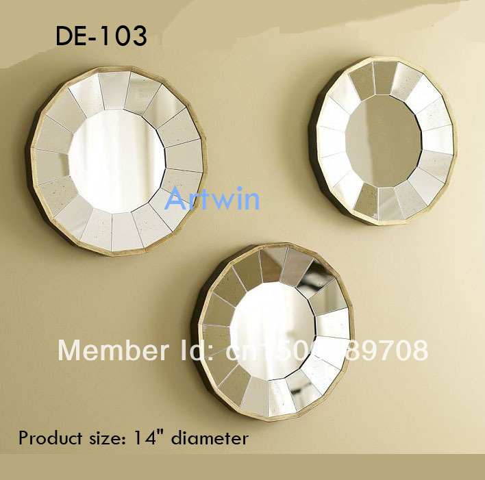 Silver Wall Decor Mirror Stick Decorative Small In Set Mirrors From Home Garden On Aliexpress Alibaba Group