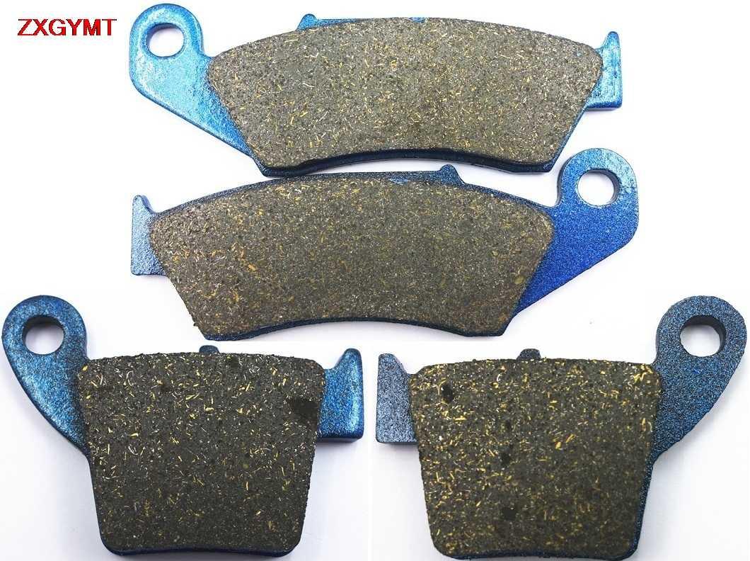 12 Front Rear Brake Pads For 2004-2009 Honda CRF250X CRF 250 X Sintered Brakes