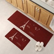 Thin Non-Slip Kitchen Bathroom Carpet Room Pad Floor Mat Home Floor Mats
