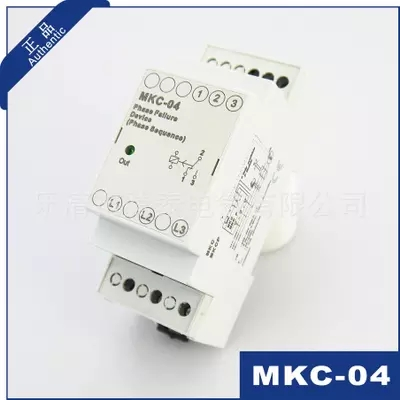 Three-phase phase sequence protection relay Motor protector MKC-04
