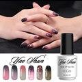 Yao shun nueva llegada led cambio de temperatura pulimento del gel del clavo 8 ml de La Venta Caliente DIY Nail Art Salon Empapa de UV Gel