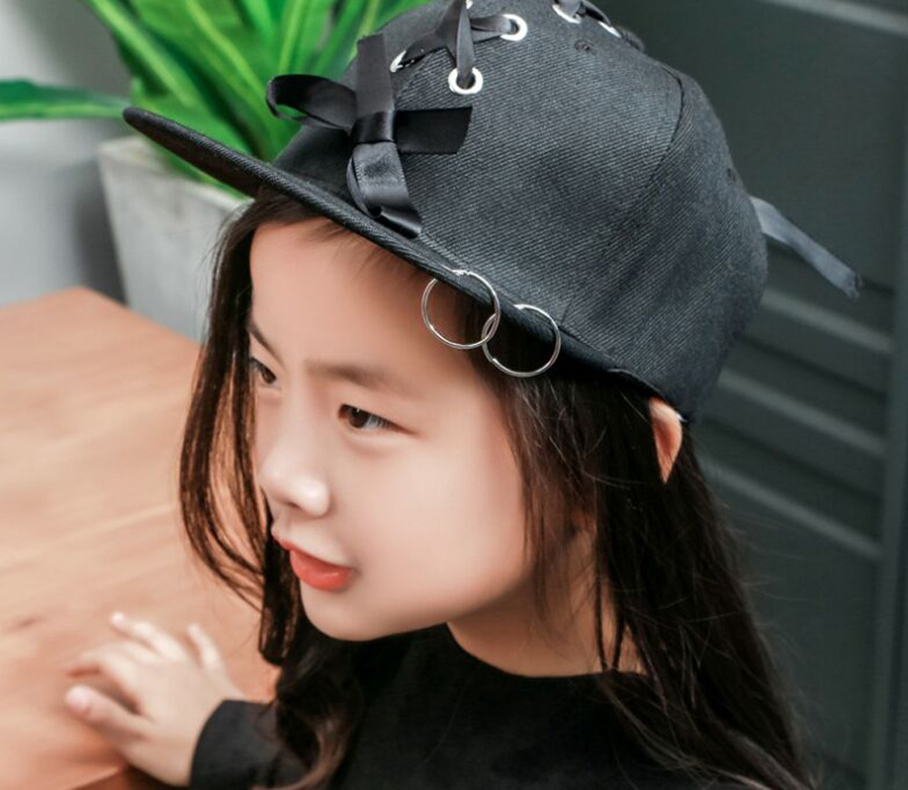 Composite Bats Korean Brand Rivet Punk Baseball Cap Hot Sell