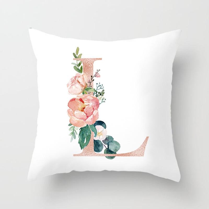 Custom Combination Love Letter Cushion Covers