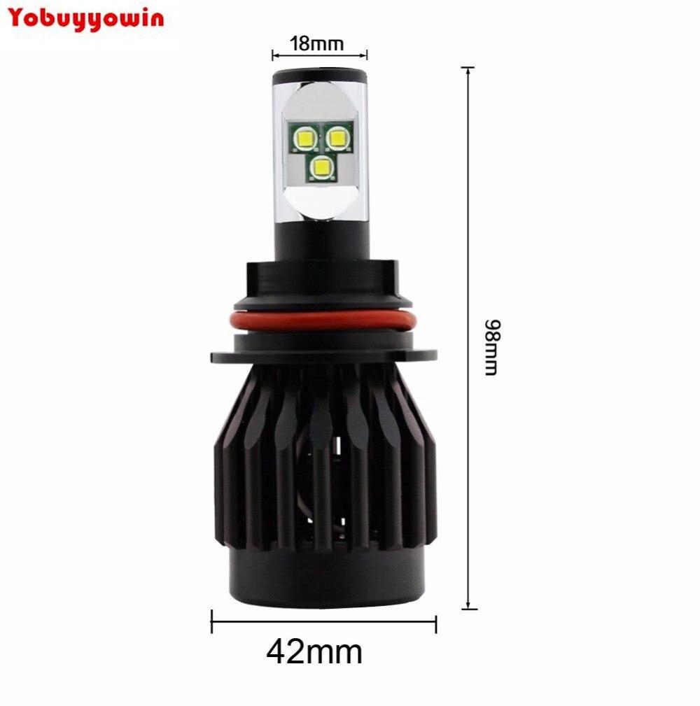 Acheter Date De Voiture 80 W 8000lm 9005 HB3 9006 HB4 H11 H8 Voiture LED Phare Kit Lumière Conversion Kit Lampe Ampoules Brouillard Ampoules Remplacer de 80w 8000lm fiable fournisseurs