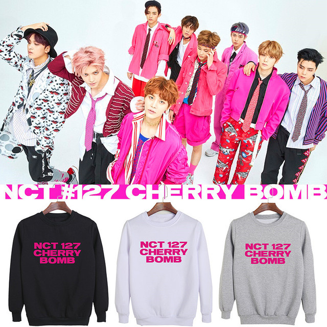 NCT 127 CHERRY BOMB Sweatshirt (4 colors available)