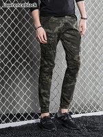 Military Army Green Men Joggers camouflage man pants Male outdoors Thermal Camo Cargo Pants Slim Fit Straight Long Trousers 1632