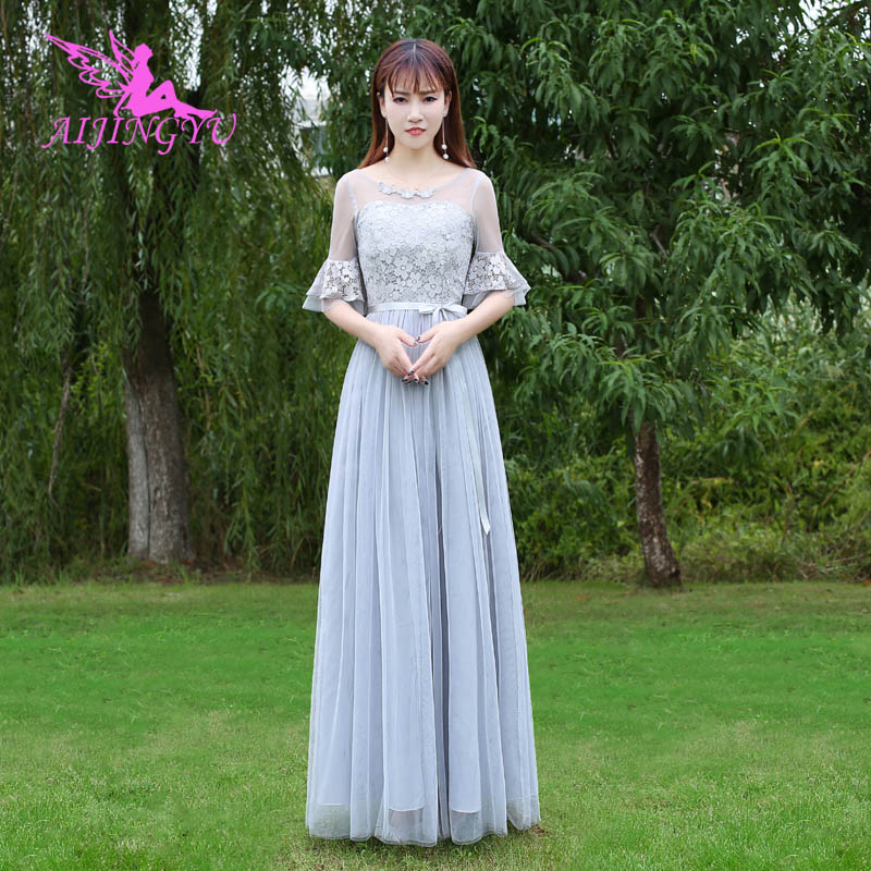 AIJINGYU 2018 hot plus size   bridesmaid     dresses   short wedding party   dress   BN622