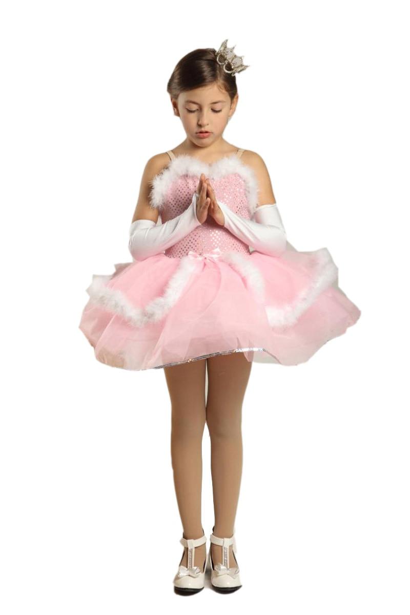Viršutinė mados Vestidos Elsa suknelė mergaičių šokių kostiumai vaikiškam trikotažui vakaro suknelė Princesės kostiumas Moterų lotynų drabužiai