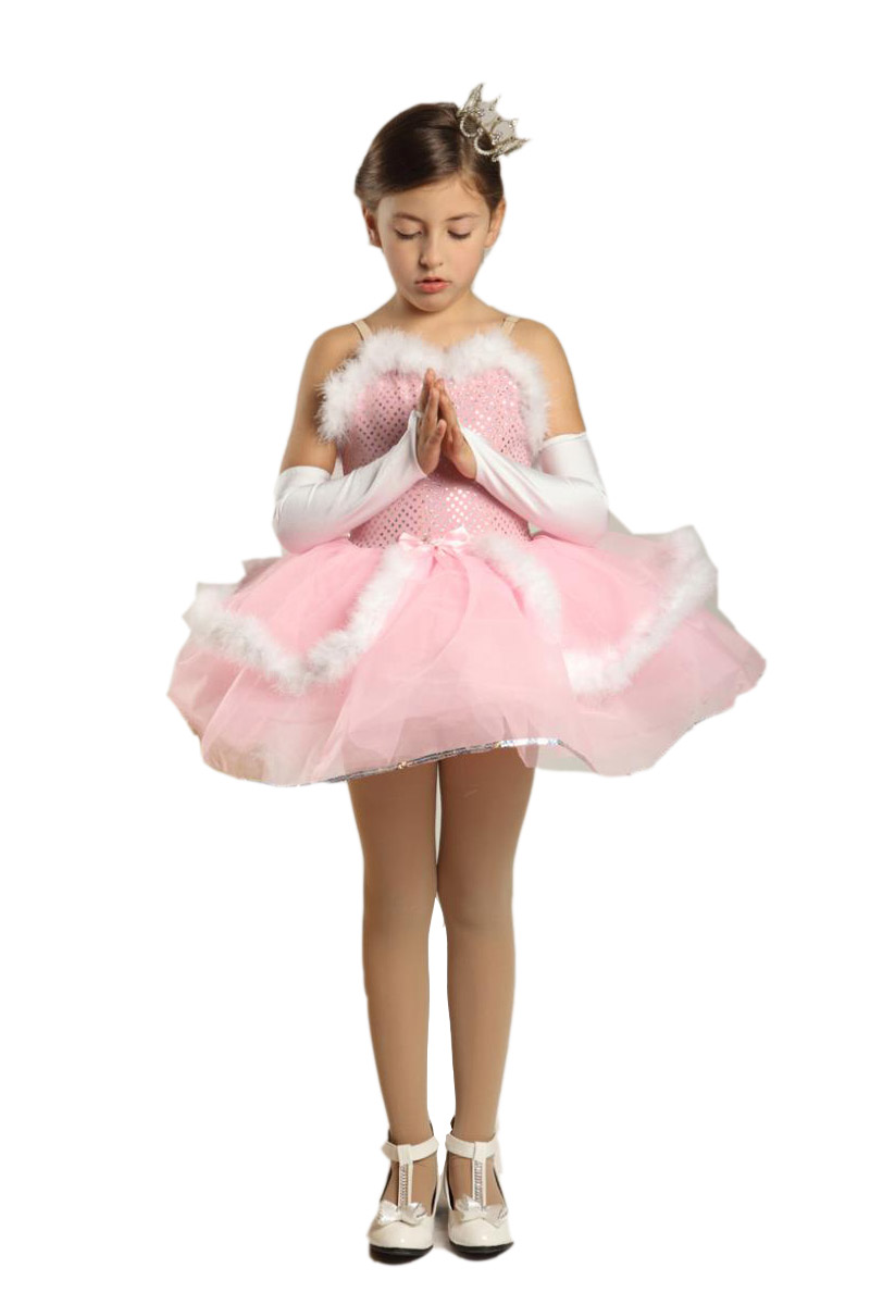 Top fashion vestidos elsa jurk meisjes dans kostuums voor kind - Carnavalskostuums
