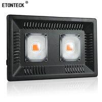 ETONTECK Brand LED grow light 100W/200W/300W Full Spectrum for Indoor Greenhouse grow tent plants grow led floodlight
