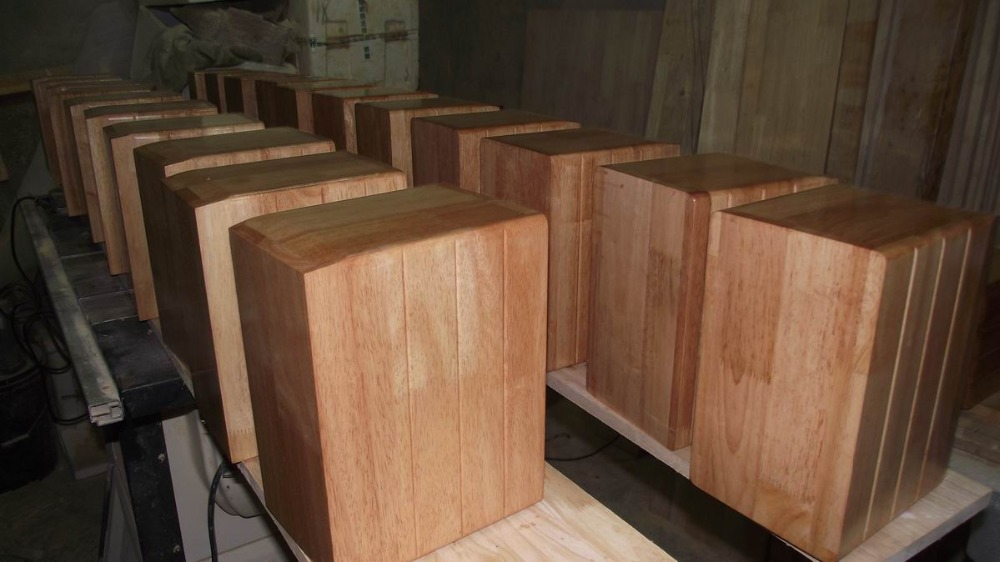 things past 4.5 inch solid wood speaker cabinet empty containers