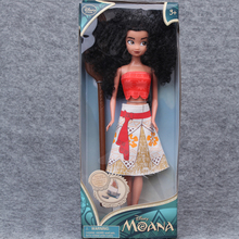 USA 8 Corp Save on Hot Sale 1pcs/set Princess Moana Series Childern Action Figures Toy Boy Girl Gift Plastic Models Cartoon Movie Toys For Kids