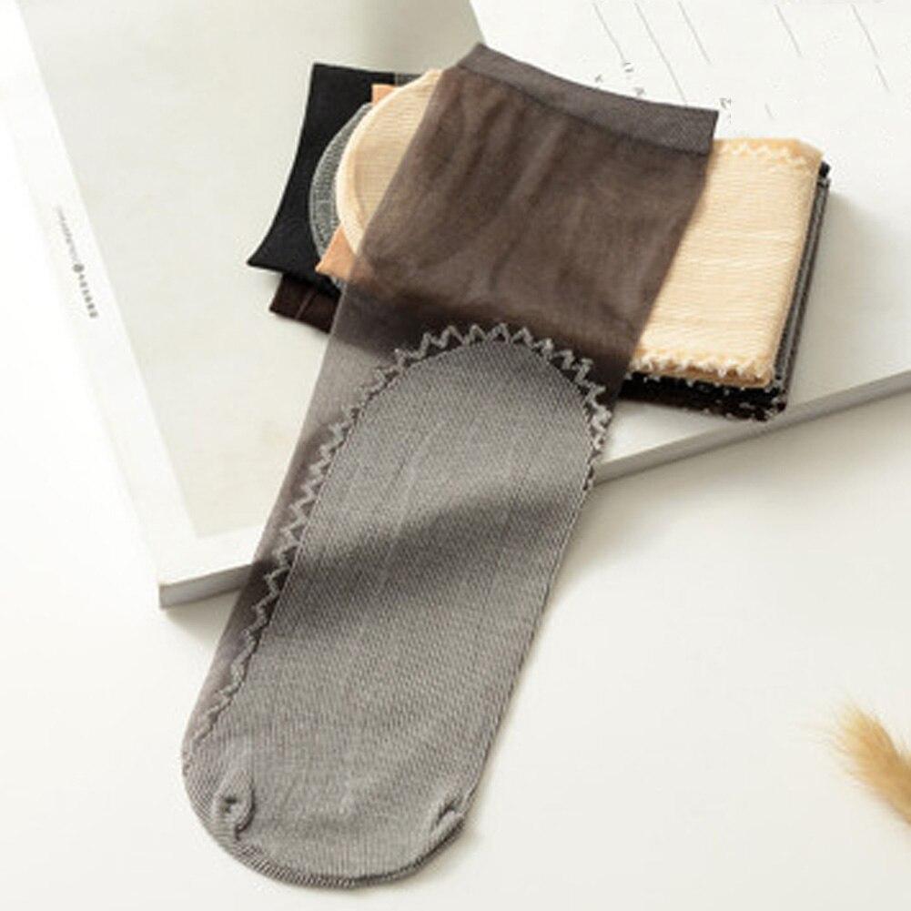 200c1f2c4ad Товар 1 Pair Quality Velvet Thick Cotton Bottom Short Sock 7 Color ...