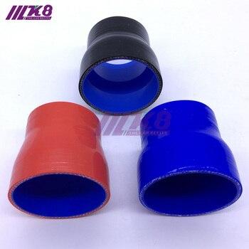 Tubo reto da mangueira do silicone do tubi do silicone do redutor de 0 graus 51-63 63-70 63-76-83mm para o intercooler