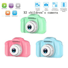 Mini Camera Digital Photography Kids Children's Cartoon Cute HD for Gift 720P Chargeable