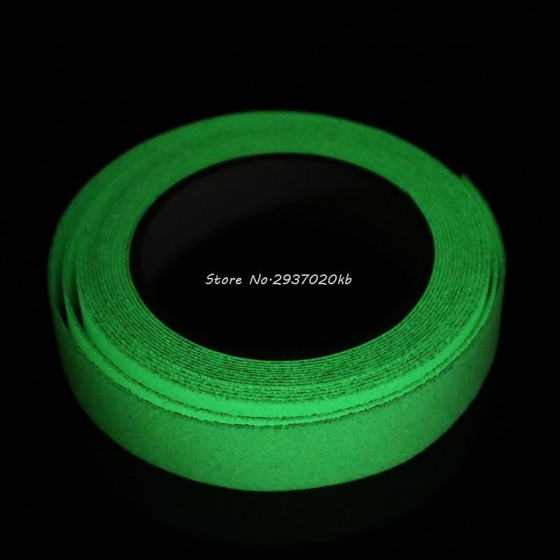 2.5CMx5M Floor Safety Luminous Non Skid Tape Adhesive High Grip Anti Slip Paster HULL_9 bike bicycle anti skid non slip handlebar tape belt wrap w bar plug camouflage black white