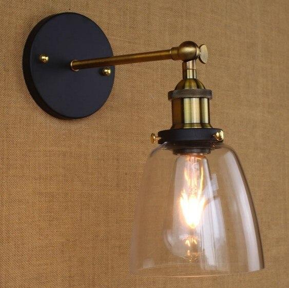 Ретро Винтаж промышленных настенный светильник светильники Освещение в помещении в Лофт Стиль arandela aplik edison бра