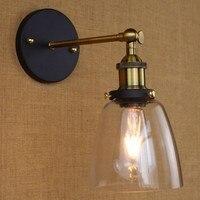 Retro do vintage industrial lâmpada de parede luzes luminárias iluminação interior em estilo loft arandela aplik edison arandela