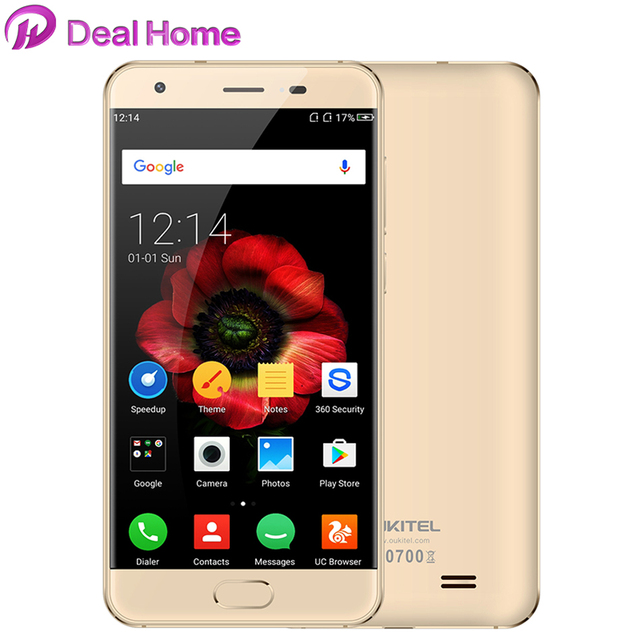 "Oukitel K4000 Plus Mobile Phone MTK6737 5.0"" HD Quad Core 1.3GHz Android 6.0 2GB RAM 16GB ROM 8.0MP 4100mAh 4G LTE Cell Phone"